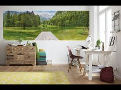 Прекрасные фотообои от Komar Products из Германии...👍👍👍  Wonderful photo murals from Komar Products of Germany...👍👍👍