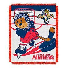 NHL® Florida Panthers Baby Jacquard Score Throw