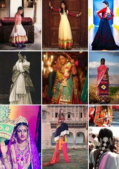 Just A Fix #india #colors #prints #patterns #anarkalli