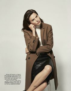 Cameron Russell in the gentlewoman