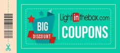 LightInTheBox Coupon Codes for 2016! Latest coupons and discount codes!