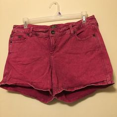 Torrid Pink Washed Out Shorts Sz 16 Pink Torrid shorts, made to look faded/washed out. Stretchy & comfortable! Worn maybe 3 times. torrid Shorts