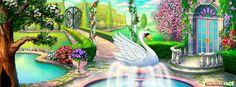 El Cisne Del Jardín - Portadas para Facebook