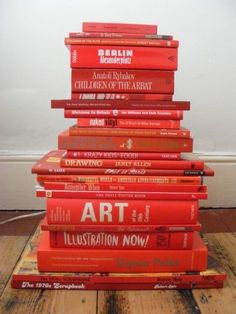 les livres... red...