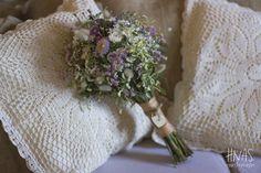 ramo de novia, bouquet de flores silvestres