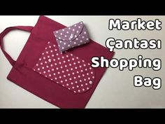 Practical Foldable Shopping Market Bag – Shopping Bag – YoncaHobby - My Bag Ideas Sewing Hacks, Sewing Projects, Bag Women, Techniques Couture, Market Bag, Quilt Pattern, Bag Making, Fabric Crafts, Diy Gifts