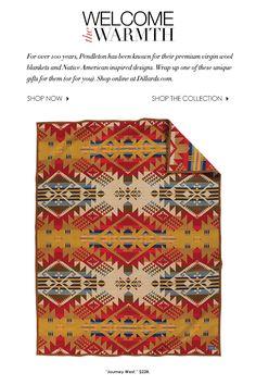 The perfect gift: legendary Pendleton blankets
