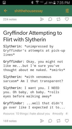 Le Strange Hogwarts Houses As Told By Ginger Slytherin Pride Fantastic Beasts Harry Potter Hate