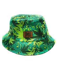 Camo Weed Bucket Hat