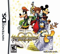 Nintendo DS - Kingdom Hearts Re:coded - my least favorite KH game lol