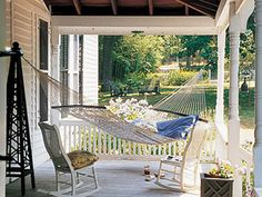 Hammock - Outdoor Decorating Ideas – Guide to Decorating Outdoors - Country Living