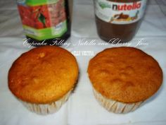 Just Desire at the Kitchen: Cupcake Filling Nutella and Cherry Jam