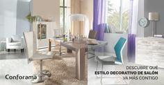 ¿Qué estilo decorativo de salón va más contigo? Vanity, Mirror, Furniture, Home Decor, Ideas, Personality, Pageants, Log Projects, Salons