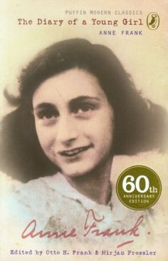 The Diary of a Young Girl: The Definitive Edition (Puffin Modern Classics) by Anne Frank http://www.amazon.co.uk/dp/0141315199/ref=cm_sw_r_pi_dp_tz66tb0DE77QJ