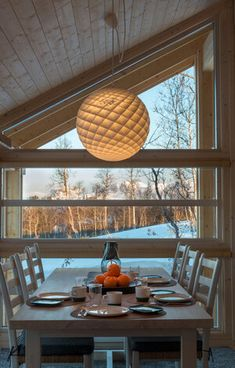 Decor, Tiny House, Dining Area, Pendant Light, Home, Ceiling Lights, House, Cottage, Cabin