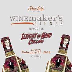 We're wining and dining this Saturday. What's on your weekend agenda? #WinemakersDinner #TheNarrowsMcCall #FineDining #WineLovers