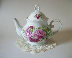 Vintage Roses Teapot Vintage Rose Teapot  by QueeniesVintageFinds, $24.95