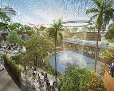 Say hello to the Bio-Dome airport Singapore airport