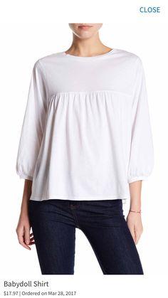 a7541bbdbb Babydoll Shirt by Olivia Sky on