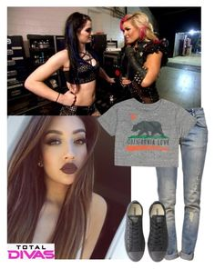 Total Divas #79 by amysykes-697 on Polyvore featuring Billabong, Anine Bing, Converse and Episode