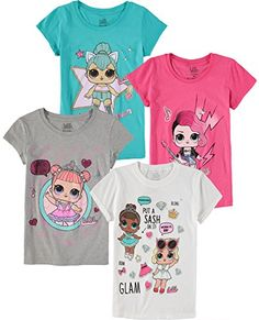 f74440dec Girls 7-16 L.O.L. Surprise! Dolls Graphic Tee | Chloe | Kids shirts ...