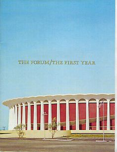 Features the historic Great Western FORUM on the cover. Loaded with pictures of both the Lakers and the LA Kings. Including Jerry West and Elgin Baylor. Inglewood California, Los Angeles California, Los Angeles Kings, Los Angeles Lakers, Trenton Thunder, Elgin Baylor, Bobby Hull