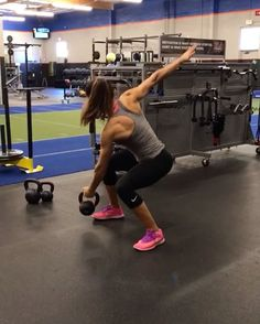 """9,491 Likes, 154 Comments - Alexia Clark (@alexia_clark) on Instagram: """"Kettlebell Sunday!  1. 10 reps each side  2. 15 reps reps each side  3. 12 reps each side  4. 15…"""""""