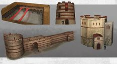 Fall Of Constantinople, Ancient Buildings, Fortification, Limes, Forts, Byzantine, Roman Empire, Log Homes, Romans
