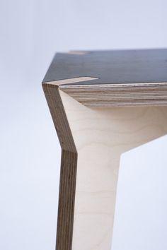 Mako / stool / detail by Moskou