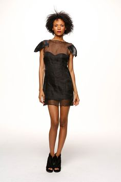 Naz&Court Sustainable. Ethical. Made in LA. www.nazandcourt.com Veggie Tanned Leather and Ahimsa Silk Dress