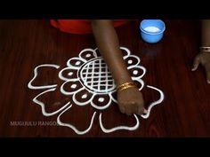 simple rangoli designs simple rangoli kolam rangoli designs simple easy and simple rangoli designs - YouTube