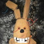 Five Nights at Freddy's SpringTrap Costume | Inhabitots Green Halloween Costume Contest