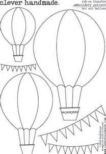 Clever Handmade Embroidery Patterns Hot AirBalloon at Scrapbook.com