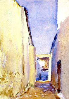 Tangier / John Singer Sargent - circa 1895