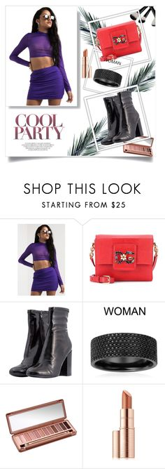 """""""Purple #"""" by women-miki ❤ liked on Polyvore featuring Dolce&Gabbana, Urban Decay, Estée Lauder, purple, beautiful and women"""