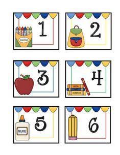 Calendar Cards Back to School – School Calendar İdeas. Preschool Calendar, Calendar Activities, Classroom Calendar, Calendar Time, Calendar Board, Free Calendar, Calendar Ideas, Preschool Rules, Preschool Printables