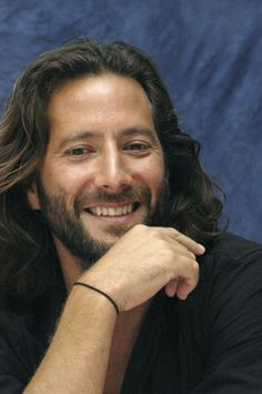 Henry Ian Cusick. Hello there, brutha. Shame this link is to a story alleging sexual harassment...