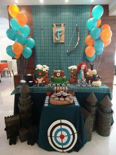 Brave Party Decoration