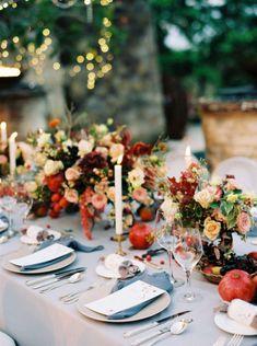 Bringing a Rich, Fall Color Palette to a Bali Wedding at Amanusa Burgundy Wedding, Autumn Wedding, Red Wedding, Rustic Wedding, Bali Wedding, Luxury Wedding, Wedding Paper, Wedding Table, Wedding Ceremony