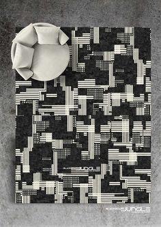 Modern luxury Contemporary Rugs, Modern Luxury, Africa, Carpet, Pattern, Handmade, Design, Decor, Hand Made