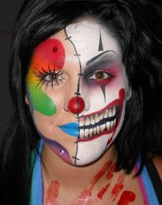 Scary Doll Costumes for Women. Neesa Cordova · scary clown makeup