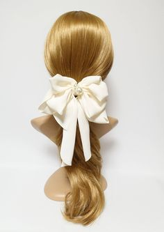Excited to share the latest addition to my #etsy shop: Chiffon Drape Long Tail Bow French Hair Barrette Handmade Women Hair Slide Accessory http://etsy.me/2tloawK #accessories #hair #hairbow #bowbarrette #feminine #frenchbarrette #handmade #barretteslide #chiffonbow