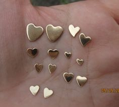 or 22 gauge) Gold Filled Heart Stampings Sterling Silver Cross, Sterling Silver Earrings, Spider Earrings, Rings N Things, Twist Ring, Halloween Jewelry, Enamel Jewelry, Jewellery Display, Handmade Jewelry