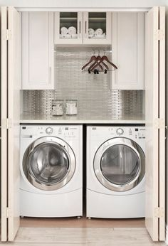 Best 20 Laundry Room Makeovers - Organization and Home Decor Laundry room decor Small laundry room organization Laundry closet ideas Laundry room storage Stackable washer dryer laundry room Small laundry room makeover A Budget Sink Load Clothes Small Laundry Rooms, Laundry Room Organization, Laundry Room Design, Laundry Storage, Laundry Decor, Closet Storage, Laundry Area, Laundry Shelves, Smart Storage