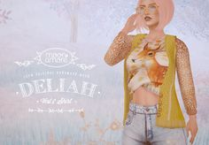 :Moon Amore: Deliah Shirt & Vest | Flickr - Photo Sharing!