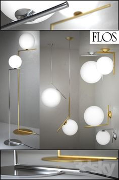 IC Lights - floor suspension ceiling wall by Flos