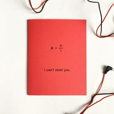 Can't Resist You Physics Valentine Love Card - Resistance Electrical circuits - Electrical Engineer Physics Math Nerd Geek Science Card Happy Birthday Signs, Funny Birthday Cards, Birthday Ideas, Bf Gifts, Boyfriend Gifts, Valentine Love Cards, Valentine Gifts, Pick Up Line Jokes, Pick Up Lines Cheesy