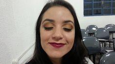 Amanda 1 esfumado marrom, cobre e dourado.