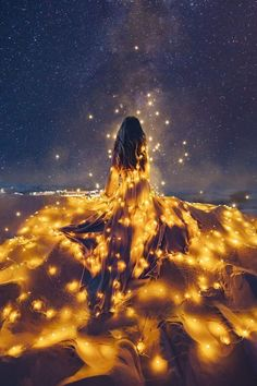 Using Photoshop, Kristina Makeeva creates dreamy depictions fit for a fairytale.