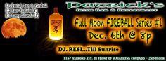 Full Moon Fireball Series 1 @ Patrick's Irish Bar & Restaurant, Condado #sondeaquipr #fullmoonfireballseries #patricksirishbar #condado #sanjuan
